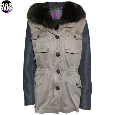 Blonde-No-8-Parka-Military-Daune-Filz-Woll-Arm-Fell-Fur-Pelz-Khaki-Harders-24-Online-Shop-Store-Fashion-Designer-Mode-Damen-Herren-Men-Women-Fall-Herbst-Winter-2014