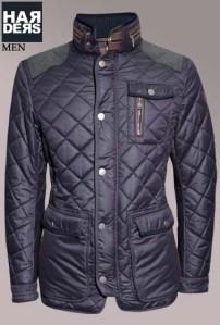 Handstich-Daune-Jacke-Kent-Blau-Harders-24-Online-Shop-Store-Fashion-Designer-Mode-Damen-Herren-Men-Women-Fall-Herbst-Winter-2014