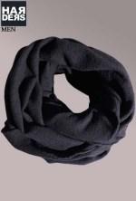 Nebo-Loop-Schal-Diego-Black-Schwarz-Merino-Wolle-Harders-24-Online-Shop-Store-Fashion-Designer-Mode-Damen-Herren-Men-Women-Fall-Herbst-Winter-2014