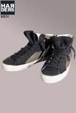 Philippe-Model-Sneaker-Schuhe-MDHU-CS05-Black-Green-Hahnentritt-Harders-24-Online-Shop-Store-Fashion-Designer-Mode-Damen-Herren-Men-Women-Fall-Herbst-Winter-2014