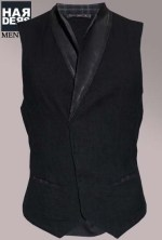 Transit-Weste-Vest-CFUTRUJ191-Leder-Wolle-Black-Harders-24-Online-Shop-Store-Fashion-Designer-Mode-Damen-Herren-Men-Women-Fall-Herbst-Winter-2014