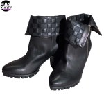 Vic-Vicmatie-Schuhe-Shoes-Stiefel-Boot-4J8750-Nero-Black-Schwarz-Metal-Kappe-Ketten-Harders-24-Online-Shop-Store-Fashion-Designer-Mode-Damen-Herren-Men-Women-Fall-Herbst-Winter-2014