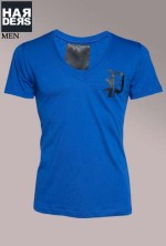 Philipp-Plein-Logo-Shirt-You-Feel-Good-PP-HM345388-Blau-Harders-24-Online-Shop-Store-Fashion-Designer-Mode-Damen-Herren-Men-Women-Fall-Herbst-Winter-2014