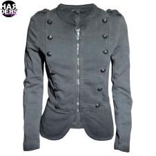 Please-Sweat-Shirt-Jacke-Grau-Grey-Harders-24-Online-Shop-Store-Fashion-Designer-Mode-Damen-Herren-Men-Women-Fall-Herbst-Winter-2014