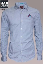 Scotch-Soda-Hemd-Shirt-20040-Blau-Blue-Muster-Einsteck-Tuch-Harders-24-Online-Shop-Store-Fashion-Designer-Mode-Damen-Herren-Men-Women-Fall-Herbst-Winter-2014