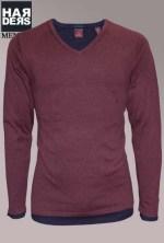 Scotch-Soda-Pullover-Shirt-Doppel-60026-Wein-Rot-Blau-Harders-24-Online-Shop-Store-Fashion-Designer-Mode-Damen-Herren-Men-Women-Fall-Herbst-Winter-2014
