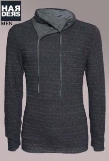 Transit-Pullover-Sweater-CFUTRU16510-U310-Schwarz-Grau-Harders-24-Online-Shop-Store-Fashion-Designer-Mode-Damen-Herren-Men-Women-Fall-Herbst-Winter-2014