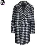 Marc-Cain-Mantel-Woll-Filz-Hahnentritt-Eggshape-Oversize-BC11.11W22-Harders-24-Online-Shop-Store-Fashion-Designer-Mode-Woman-Damen-Women-Fall-Herbst-Winter-2014
