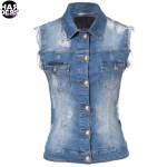 Philipp-Plein-Jeans-Weste-Denim-Vest-Big-Kisses-Swarovski-Vintage-Destroyed-CW260400-Harders-24-Online-Shop-Store-Fashion-Designer-Mode-Woman-Damen-Women-Fall-Herbst-Winter-2014