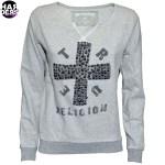 True-Religion-be-so-bold-Sweat-Shirt-F03C8G-Cross-Kreuz-Niete-Studs-Swarovsi-Jet-Black-Harders-24-Online-Shop-Store-Fashion-Designer-Mode-Damen-Women-Fall-Herbst-Winter-2014