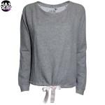 Juvia-Sweat-Shirt-200205-907-Grau-Schleife-Harders-24-Online-Shop-Store-Fashion-Designer-Mode-Woman-Damen-Women-Fruehjahr-Sommer-Spring-Summer-2015