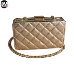 Michael-Kors-Tasche-Bag-Clutch-Elsie-Gold-30H4MBXC1K-Pale-Gold-Metal-Harders-24-Online-Shop-Store-Fashion-Designer-Mode-Woman-Damen-Women-Fruehjahr-Sommer-Spring-Summer-2015