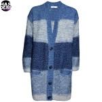 Closed-Strick-Mantel-Cardigan-Yarn-Mix-Streifen-Blau-Weiss-Harders-24-Online-Shop-Store-Fashion-Designer-Mode-Woman-Damen-Women-Fruehjahr-Sommer-Spring-Summer-2015