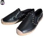 Ash-Schuhe-Shoes-Zest-Espadrillo-Espadrilles-Leder-Leather-Black-Schwarz-Niete-Studs-Harders-24-Online-Shop-Store-Fashion-Designer-Mode-Woman-Damen-Women-Fruehjahr-Sommer-Spring-Summer-2015