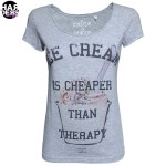Einstein-Newton-Shirt-Icecream-Cheaper-Therapy-Vintage-Used-Harders-24-Online-Shop-Store-Fashion-Designer-Mode-Woman-Damen-Women-Fruehjahr-Sommer-Spring-Summer-2015