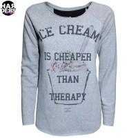 Einstein-Newton-Sweat-Shirt-Icecream-Cheaper-Therapy-Vintage-Used-Harders-24-Online-Shop-Store-Fashion-Designer-Mode-Woman-Damen-Women-Fruehjahr-Sommer-Spring-Summer-2015