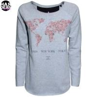Einstein-Newton-Sweat-Shirt-World-Map-Paris-New-York-Tokyo-Rose-Vintage-Used-Harders-24-Online-Shop-Store-Fashion-Designer-Mode-Woman-Damen-Women-Fruehjahr-Sommer-Spring-Summer-2015