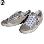 Philippe-Model-Sneaker-Schuhe-Shoes-CLLD-Sand-Platinum-Gold-Metal-Harders-24-Online-Shop-Store-Fashion-Designer-Mode-Woman-Damen-Women-Fruehjahr-Sommer-Spring-Summer-2015