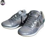 Philippe-Model-Sneaker-Schuhe-Shoes-Spot-TRLD-Grey-Silver-Silber-Metal-Vintage-Used-Harders-24-Online-Shop-Store-Fashion-Designer-Mode-Woman-Damen-Women-Fruehjahr-Sommer-Spring-Summer-2015