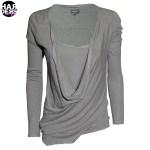 Preach-Shirt-Halima-Grey-Longsleeve-Double-Layer-Harders-24-Online-Shop-Store-Fashion-Designer-Mode-Woman-Damen-Women-Fruehjahr-Sommer-Spring-Summer-2015