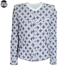 Iro-Jacke-Handi-AC441-Blue-White-Muster-Grafik-Harders-24-Online-Shop-Store-Fashion-Designer-Mode-Woman-Damen-Women-Fruehjahr-Sommer-Spring-Summer-2015