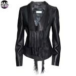 Schyia-Leder-Jacke-Hedi-Black-Fransen-Vintage-Used-Harders-24-Online-Shop-Store-Fashion-Designer-Mode-Woman-Damen-Women-Fruehjahr-Sommer-Spring-Summer-2015