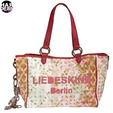 Liebeskind-Berlin-Henkel-Tasche-Bag-Mika-Red-Canvas-Peace-Hippie-Rot-Bunt-Graffiti-Harders-24-Online-Shop-Store-Fashion-Designer-Mode-Woman-Damen-Women-Fruehjahr-Sommer-Spring-Summer-2015