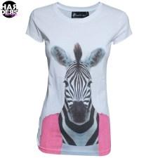 Saint-Noir-Shirt-Zebra-Pink-Dress-White-Harders-24-Online-Shop-Store-Fashion-Designer-Mode-Woman-Damen-Women-Fruehjahr-Sommer-Spring-Summer-2015