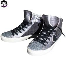 Philippe-Model-Sneaker-Hi-Top-Tweed-MDHD-Black-Grey-Silver-Glitter-Metal-Harders-24-fashion-Fall-Winter-Herbst-Damen-Women-2015