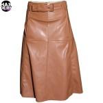 Patrizia-Pepe-Rock-Skirt-Leder-Kunstleder-8L0074-Brown-Sugar-Harders-24-fashion-Fall-Winter-Herbst-Damen-Women-2015