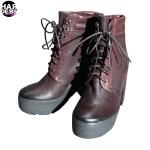 Vic-Matie-Schuhe-Stiefel-Boots-Copp-Plateau-Brown-Lyn-Vintage-Harders-24-fashion-Fall-Winter-Herbst-Damen-Women-2015