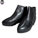Vic-Matie-Schuhe-Stiefel-Boots-Lyn-Grif-Zip-Plateau-Schwarz-Black-Vintage-Harders-24-fashion-Fall-Winter-Herbst-Damen-Women-2015