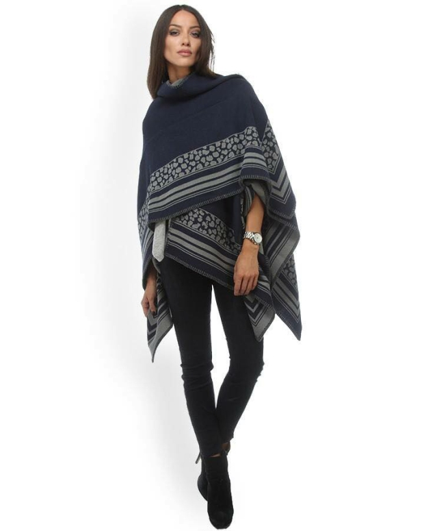 Blog1-Sara-Martignoni-Poncho-N1Love-Aztec-Mondrian-Leopardo-Lurex-Harders-24-fashion-Fall-Winter-Herbst-Damen-Women-2015