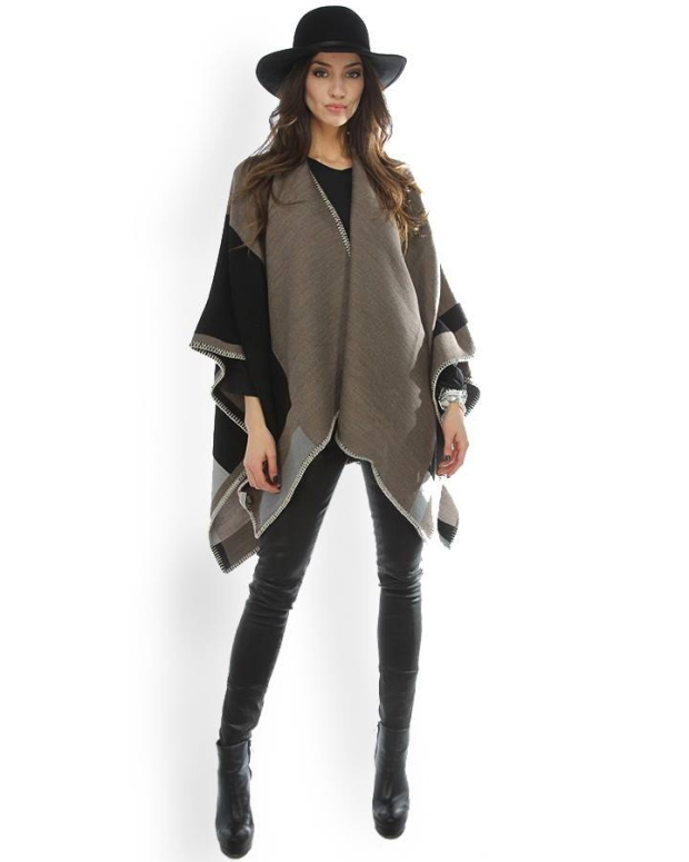 Blog2-Sara-Martignoni-Poncho-N1Love-Aztec-Mondrian-Leopardo-Lurex-Harders-24-fashion-Fall-Winter-Herbst-Damen-Women-2015