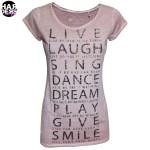 Rich-Royal-Shirt-Live-Laugh-Sing-Dance-Dream-Play-Give-Smile-Light-Mauve-Rose-Swarovski-Strass-Harders-24-fashion-Fall-Winter-Herbst-Damen-Women-2015