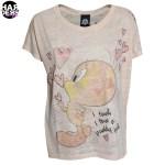 Frogbox-Shirt-tweety-Heart-Herz-Apricot-Swarovski-Strass-Glitter-Harders-Fashion-24-fashion-Spring-Summer-Fruehjahr-Sommer-Damen-Women-2016