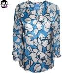 IVI-Tunika-Bluse-Anemon-Sky-Blau-Blue-Flower-Blume-Beige-Seide-Silk-Harders-Fashion-24-fashion-Spring-Summer-Fruehjahr-Sommer-Damen-Women-2016
