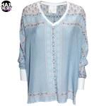 IVI-Tunika-Bluse-Orname-Grafik-Muster-Multi-Beige-Blau-Seide-Silk-Harders-Fashion-24-fashion-Spring-Summer-Fruehjahr-Sommer-Damen-Women-2016