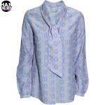 IVI-Tunika-Bluse-Orname-Grafik-Muster-Sky-Beige-Blau-Seide-Silk-Harders-Fashion-24-fashion-Spring-Summer-Fruehjahr-Sommer-Damen-Women-2016
