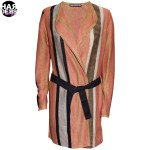 Drykorn-Strick-Mantel-Cardigan-Biba-Streifen-Stripes-Orange-Black-Schwarz-Beige-Vintage-Harders-Fashion-24-fashion-Spring-Summer-Fruehjahr-Sommer-Damen-Women-2016