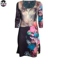 Anima-Pop-Kleid-Dress-Neopren-PUA060-Kreise-Wende-Pelz-Fur-Pet-Toys-Schwarz-Black-Harders-Fashion-24-fashion