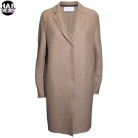 Harris-Wharf-Mantel-Coat-A1301MLK-Cocoon-Camel-Beige-Harders-Fashion-24-fashion